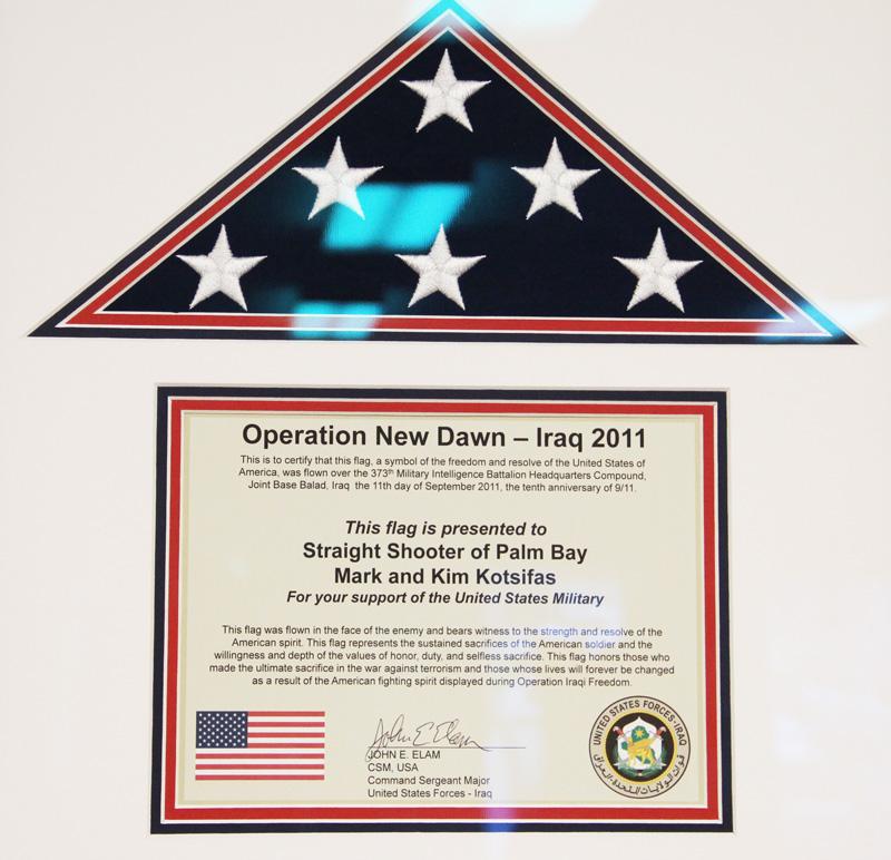 Straight Shooter - Military Appreciation
