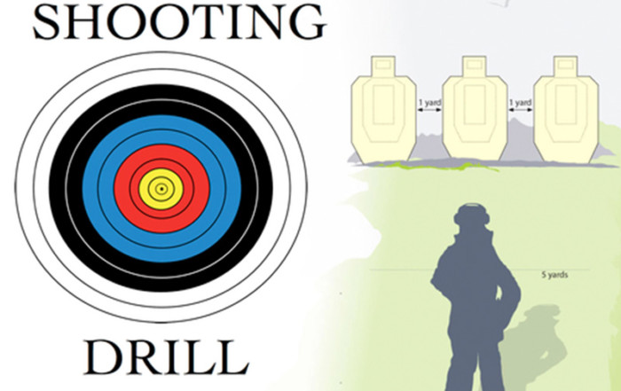 Straight Shooter - Shooting Drill