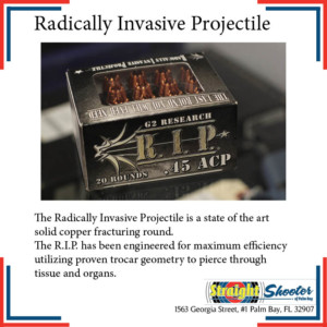 Straight Shooter - Ammunition - Radically Invasive Projectile (R.I.P.)