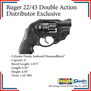 Straight Shooter - Handgun - Ruger 22/45 Double Action Distributor Exclusive