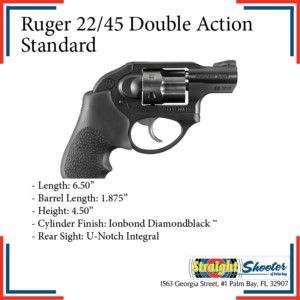 Straight Shooter - Handgun - Ruger 22/45 Double Action Standard