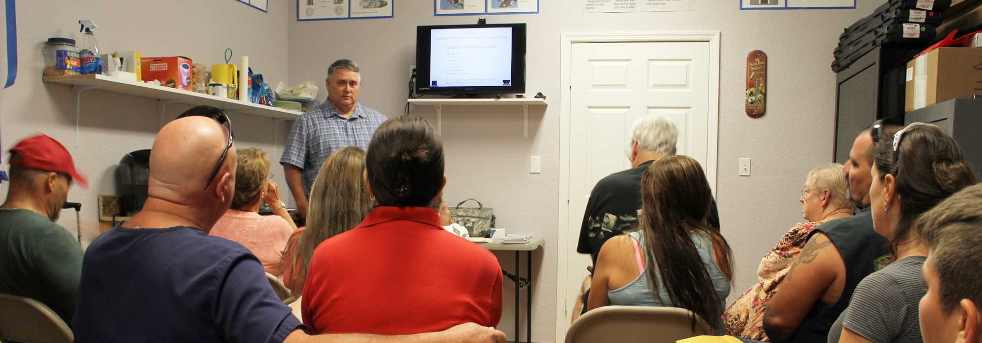 Straight Shooter of Palm Bay - We Offer Concealed Weapon Classes