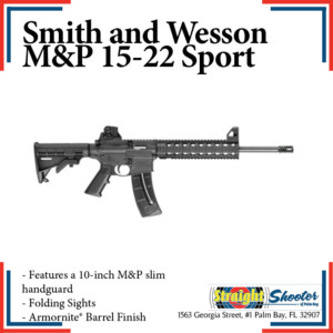 Straight Shooter - Rifle - Smith and Wesson M&P 15-22 Sport