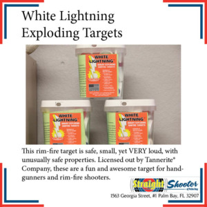 Straight Shooter - Personal Safety Supplies - White Lightning Exploding Targets